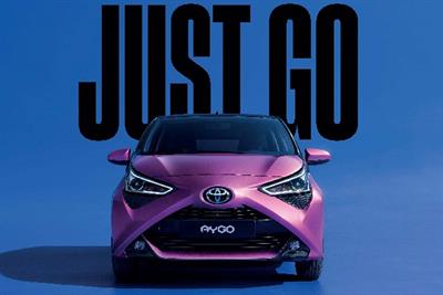 """Toyota """"Just go"""" by The & Partnership"""