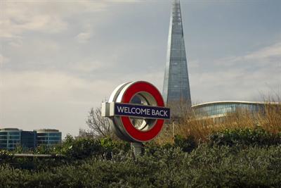 "TfL ""Welcome back. Tube it. Bus it. Train it"" by VCCP"