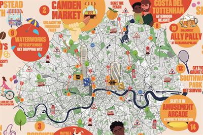 """Trojan """"London lovers unite"""" by Wavemaker UK"""