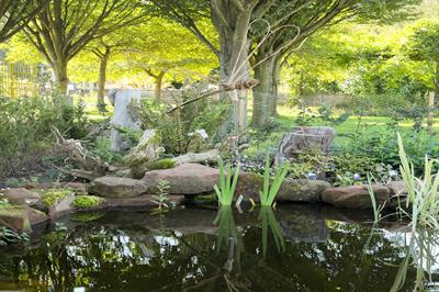 New organic demonstration garden opens