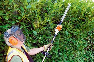 Stihl HLA 65 long-reach hedge trimmer
