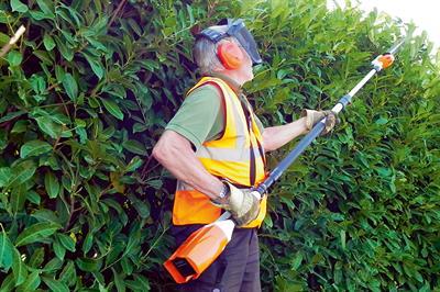 Stihl HLA 85 telescopic hedge trimmer
