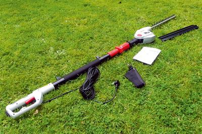 Cobra LRH40E long reach hedge trimmer