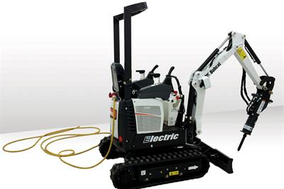 Bobcat E10 Electric excavator