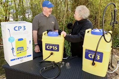 VIDEO - Sally Drury talks to Cooper Pegler about their Evolution Sprayers