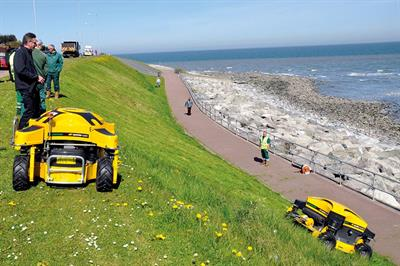 Mowers special report -  Remote-control and walk-behind mowers