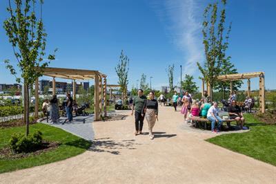St. Modwen creates greener public realm for Longbridge town centre