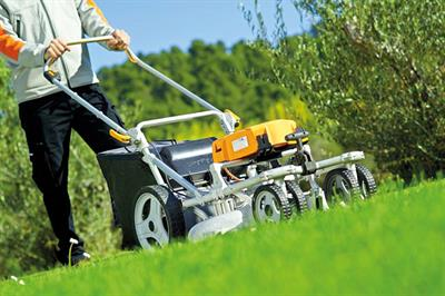 VIDEO: Review of Pellenc Rasion Basic and Smart pedestrian battery mower