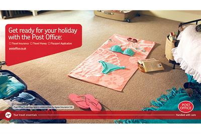 Post Office to launch holiday campaign with Dare