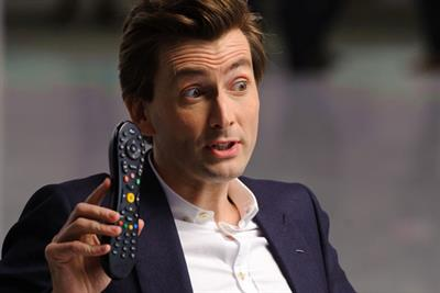 Virgin Media launches TV ad with Branson and Tennant
