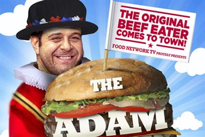 Food Network launches Adam Richman campaign