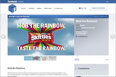 Facebook launches advertising creativity showcase