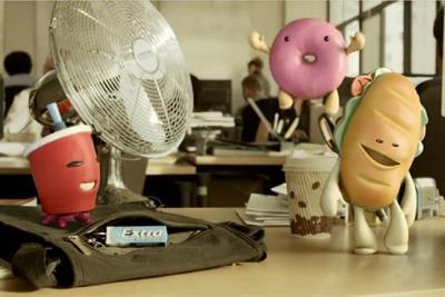 Wrigley brings back 'Food Creatures'