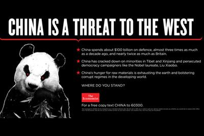 The Economist questions immigration and China in latest ads