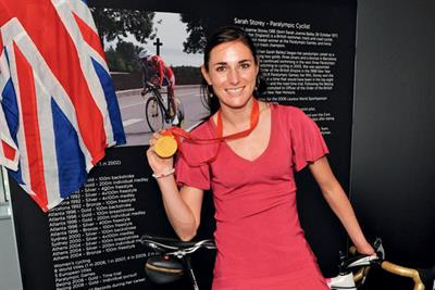Inside story: Sarah Storey Paralympic cyclist