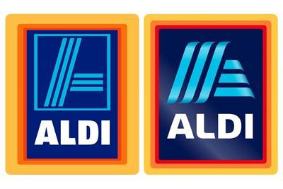 Aldi revamps logo