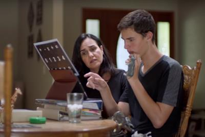 Apple gives voice to autistic teen Dillan through technology