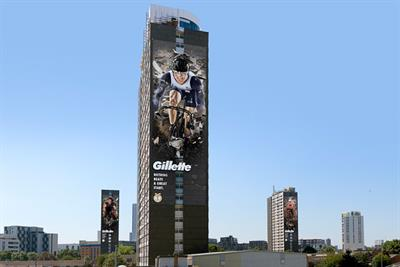 Gillette goes outdoor for Great Start Olympic campaign