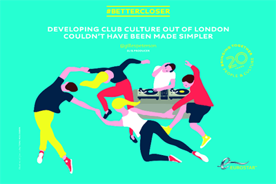 Eurostar celebrates 20 years of continental travel with #bettercloser