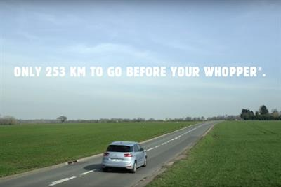Burger King thanks McDonald's for 'being everywhere' in revenge ad