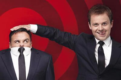 Ambrosia to sponsor Ant and Dec's ITV show