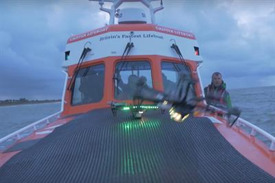 Direct Line's drones will be used to rescue people at sea