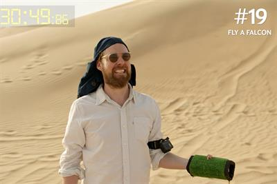 Etihad sends Kaiser Chiefs frontman Ricky Wilson to Abu Dhabi for 48-hour speed holiday