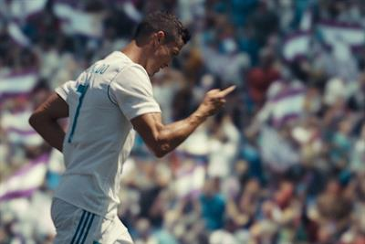 Ronaldo performs new football move in EA Sports' Fifa 18 campaign