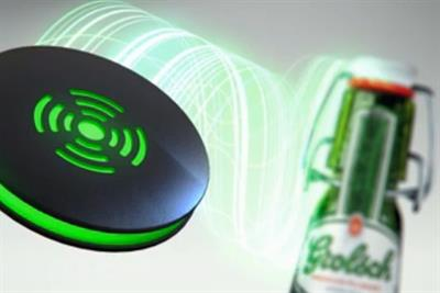 Grolsch embeds Bluetooth tech into bottle tops to unlock free movies
