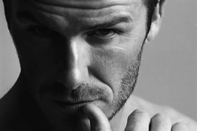 H&M plots David Beckham 't-commerce' Super Bowl ad