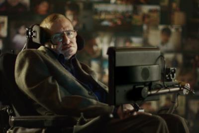 Stephen Hawking stars in Save the Children Syria ad