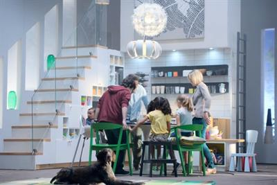 Ikea syncs mobile content with TV ads for 'Wonderful Everyday' celebration of meal times