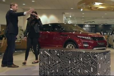 Jaguar Land Rover uses augmented reality to showcase Discovery Sport