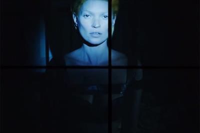 Kate Moss goes sci-fi in Alexander McQueen film