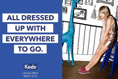 Taylor Swift stars in campaign to relaunch canvas shoe brand Keds