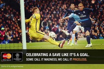 MasterCard celebrates 'mad' football fans ahead of Uefa Champions League final