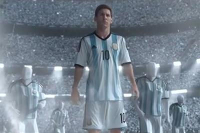 Adidas launches gaming platform powered by social media starring Lionel Messi