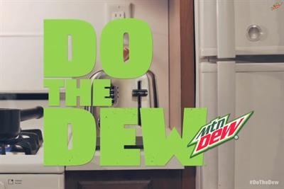 Mountain Dew superhero rides seahorse in 15-second-per-episode 'mini mini-series'