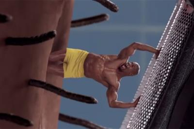 Old Spice gets surreal as Terry Crews attacks his mini-clone