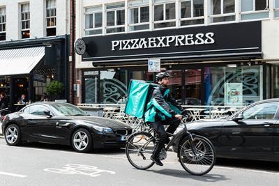 Pizza Express becomes Deliveroo's biggest partner brand