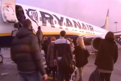 Ryanair's new marketing head Peter Bellew takes to Twitter as new TV ad airs