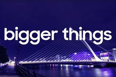 Samsung turns Samuel Beckett Bridge into playable harp