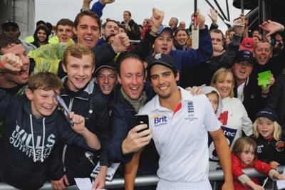 Sky Sports asks England cricket fans to send in selfies for starring role in Ashes TV ad