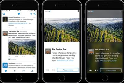Breakfast Briefing: HP revenue down ahead of business split and Twitter expands ad reach
