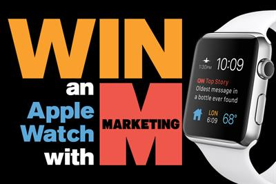 Your chance to win an Apple Watch!