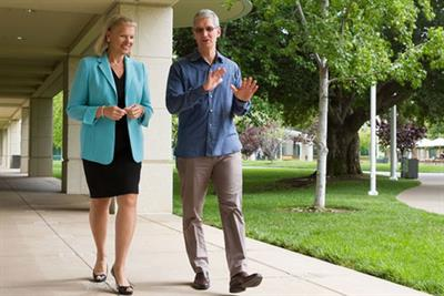 Apple and IBM forge alliance to take on Microsoft's share of B2B