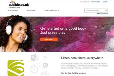 M2M wins £8m Audible.co.uk media account