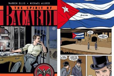 Bacardi creates graphic novel to showcase brand 'attitude'