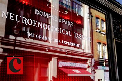 Watch Bompas & Parr host the grand cork experiment