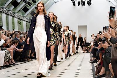 Geek chic: digital hits and misses at London Fashion Week